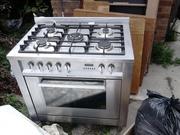 90 cm Range Cooker Stainless steel