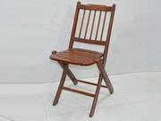 Small Teakwood Folding Lawn Chair